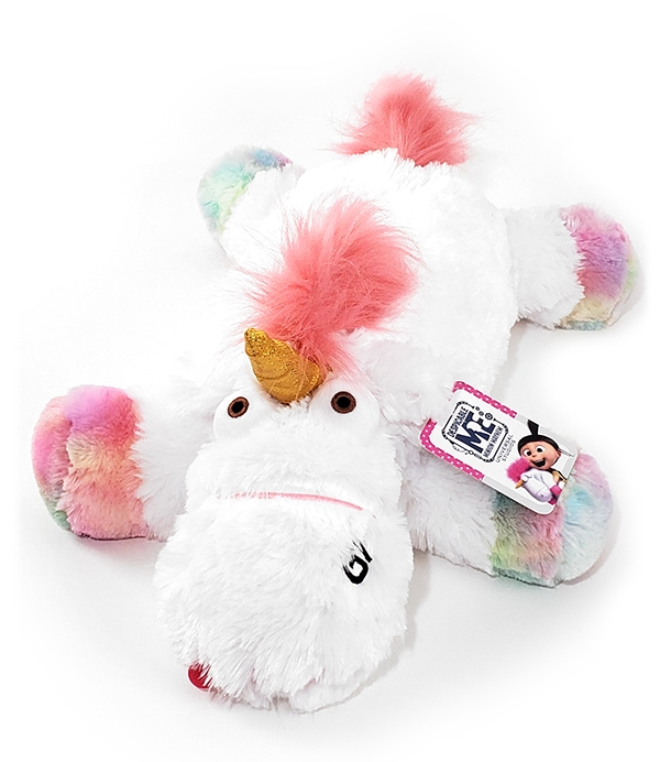 Despicable ME Universal Studios Parks Plush Pillow Fluffy Unicorn with Rainbow Hooves