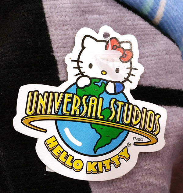 Authentic Universal Studios Parks Hello Kitty Beach Towel - Jaws Shark Scene Movie Poster