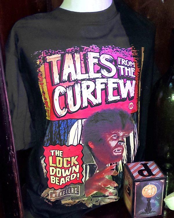 Halloween Horror Nights Horror Ink (Men's or Ladies) Shirt Wolfman Tales of Curfew