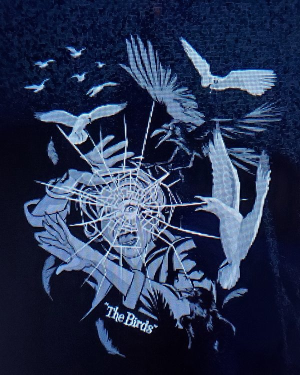 Halloween Horror Nights Horror Ink (Men's or Ladies) Shirt The Birds Movie Poster Pose