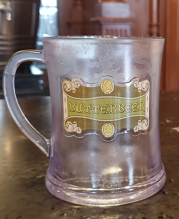 Wizarding World of Harry Potter Universal Studios Butterbeer Mug - Fountain Fair Fortune