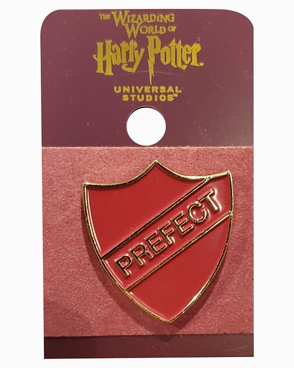 Wizarding World of Harry Potter Universal Studios Parks Pin Gryffindor Prefect Shield