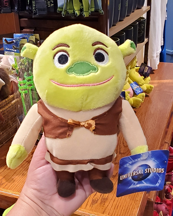 Shrek Ogre 10 inch Plush Plushie Toy Stuffed Animal NEW Dreamworks